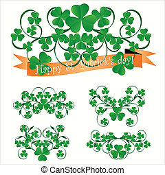 St. Patrick\'s day ornaments
