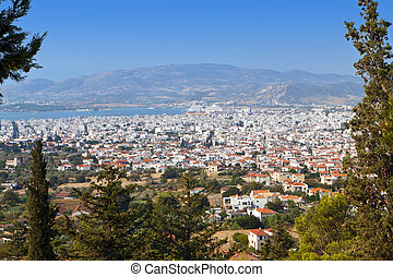 Volos city in Greece - Volos city as it is seen from...