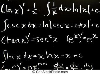 Extracto, matemáticas, Plano de fondo