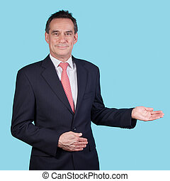 Handome Smiling Business Man in Suit