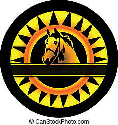 Horse Logo - Horse country logo