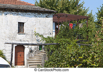 Greek traditional old house