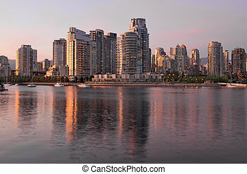 Vancouver BC Waterfront Condominiums
