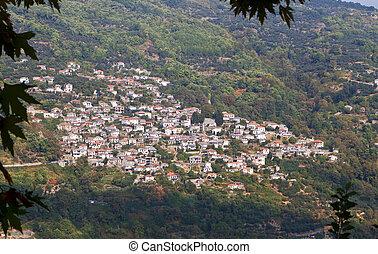 Traditional Zagora village in Greece - Traditional Zagora...