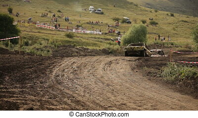 Just have a race - Extreme off-road racing to sports cars...