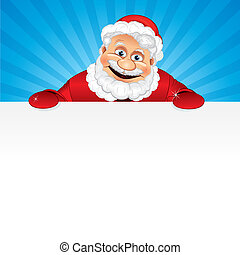 Santa with Copyspace