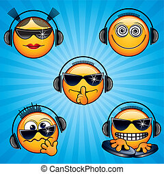 Dj Icons - DJ Icons and Smileys