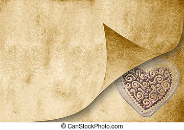 Wedding invitation card in sepia tone - wedding invitation...