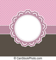 Decorative pink background - Cute decorative background...