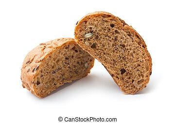 barra, blanco, bread
