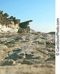 coastline of Kefalonia, Greece