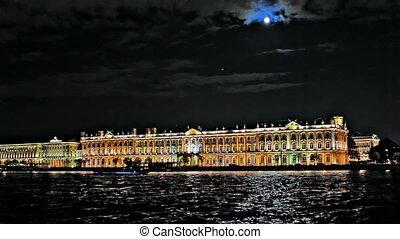 Night Hermitage Museum