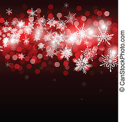 christmas background with place for new year text invitation