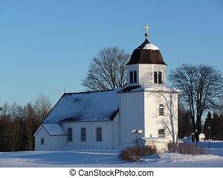 Strängsereds Church in Sweden - Strängsereds church in...