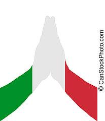 Italian praying