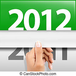 happy new year 2012 - symbol of happy new year 2012