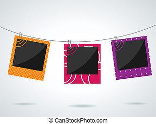 Photo frames - Vector photo frames