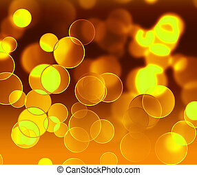 gold light - abstract magic background with gold blur light