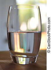 Is the Glass Half Full or Empty? - half full glass of water