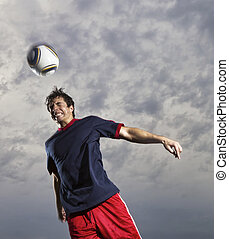 Soccer Player - Image of a soccer player in action