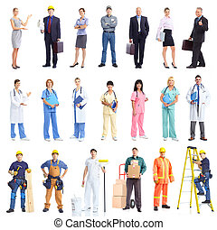 Contractors. - Industrial contractors workers people....