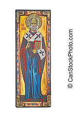 St Nicolas - Icon of popular Christian religion Saint...