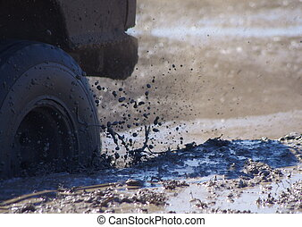 Mud Drops - A mud bogging good time