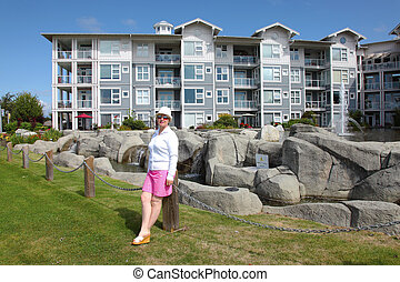 Retirement community in Richmond BC Canada. - A large...