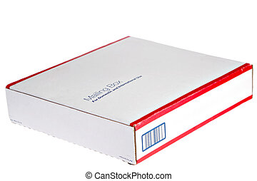 Emplty Mailing Box On Isolated Background