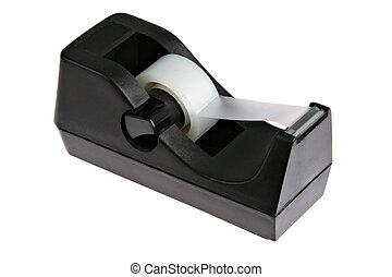 Tape Dispenser - Trasparent Tape Dispenser Isolated