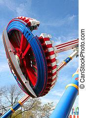 Flying Disc Roller Coaster
