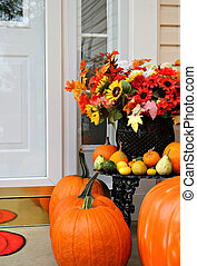 sweet home autumn decoration - sweet home doorway autumn...