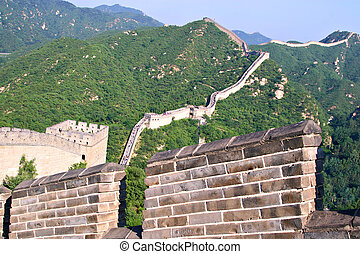 Tourist-spot at Great Wall of China