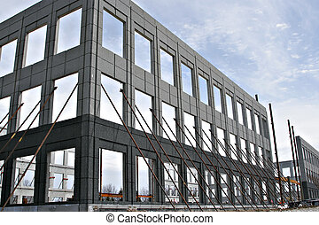 Commercial Construction Structure - Commercial building...