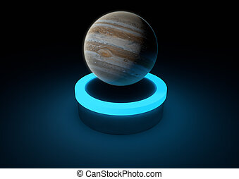 Jupiter - render of the planet jupiter