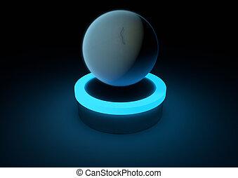 Planet Uranus -...