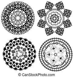 round oriental pattern