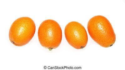 Fresh organic Kumquats