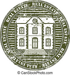 Real estate stamp