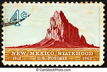 United States of America - circa 1962: a stamp printed in...