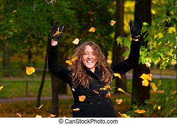 fun at autumn