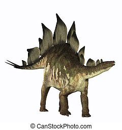 Stegosaurus - The Stegosaurus dinosaur is known for its...
