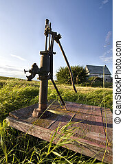 Old Vintage Water Pump handle Saskatchewan Canada