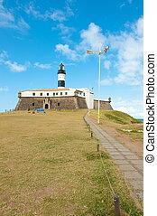 Salvador da Bahia - Barra lighthouse, Salvador - Bahia -...