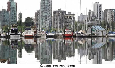 Marina in Vancouver BC Canada - Marina in Vancouver BC...