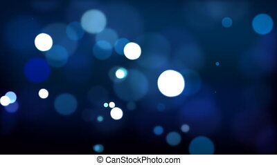 Blue defocused Particles HD 024 - Blue defocused Particles...