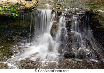McCormicks Creek Falls, Indiana - Small but beautiful...