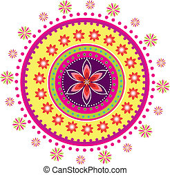 Pattern - Colorful Indian pattern