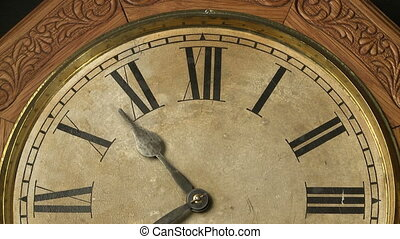 Antique Clock time lapse 01 - Antique Clock time lapse
