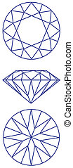 diamond graphic scheme